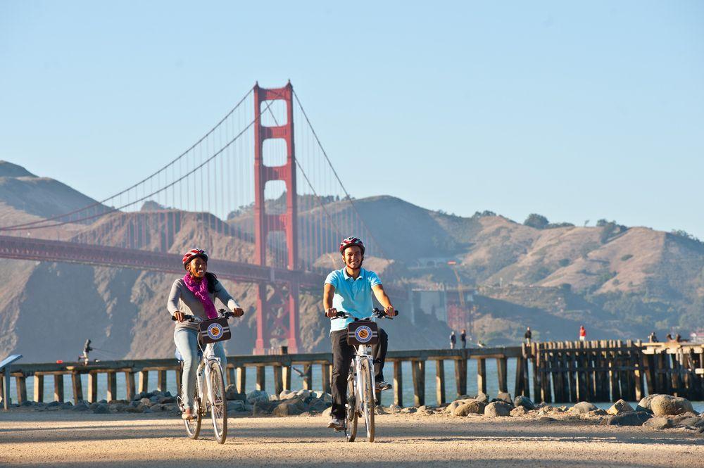 Bay City Bike Rentals & Tours: 501 Bay St, San Francisco, CA