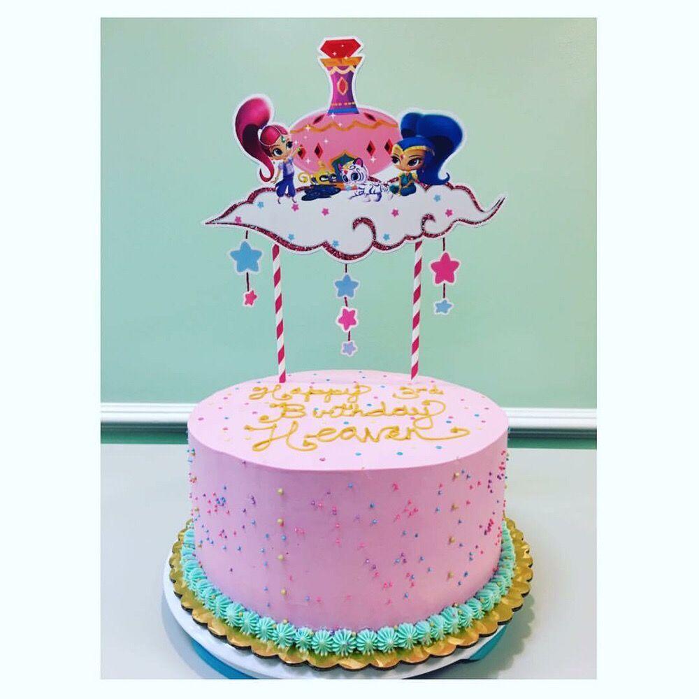 Shimmer And Shine Birthday Cake Yelp