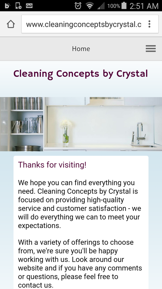 Cleaning  Concepts by Crystal: 230 NW Larry St, Pullman, WA