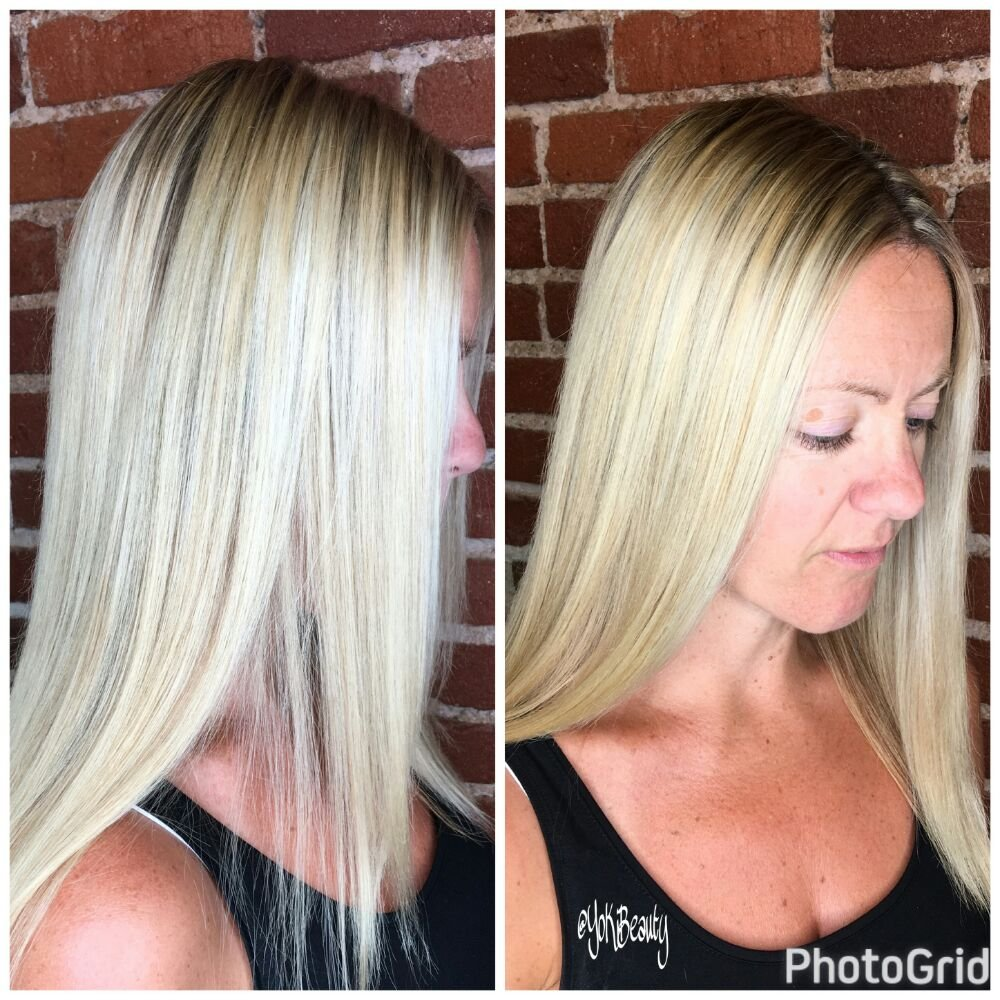 Blonde Me master class l took. My model wanted softer lighter ...