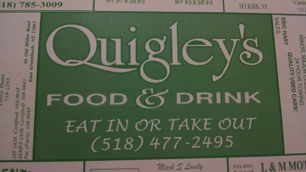 Quigley's - 14 Reviews - American (Traditional) - 593 Columbia ...