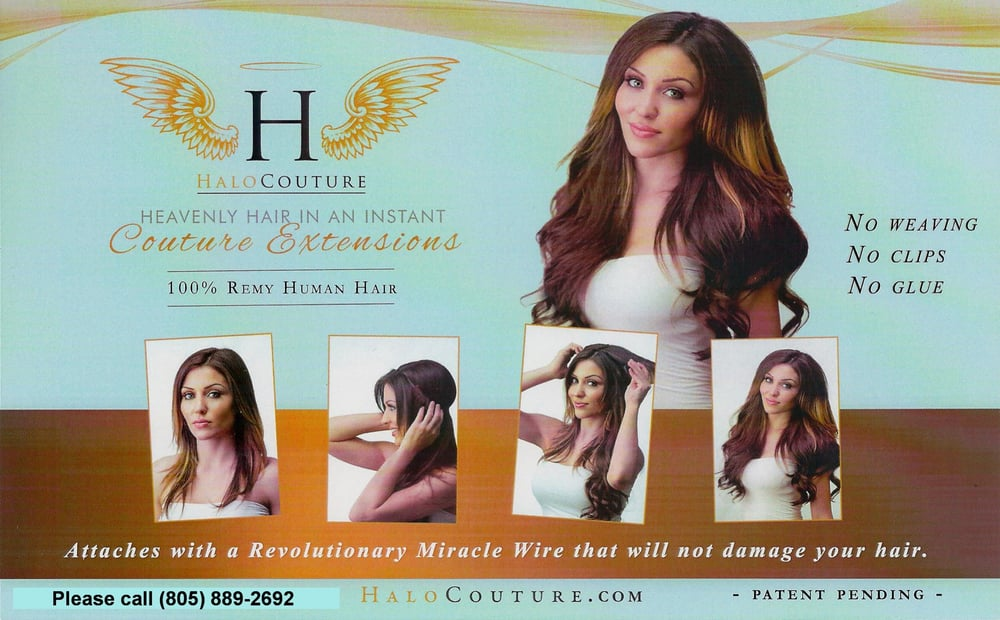 Halo couture hair extensions are amazing yelp photo of debs hair hair hair jamies thousand oaks ca united states pmusecretfo Images