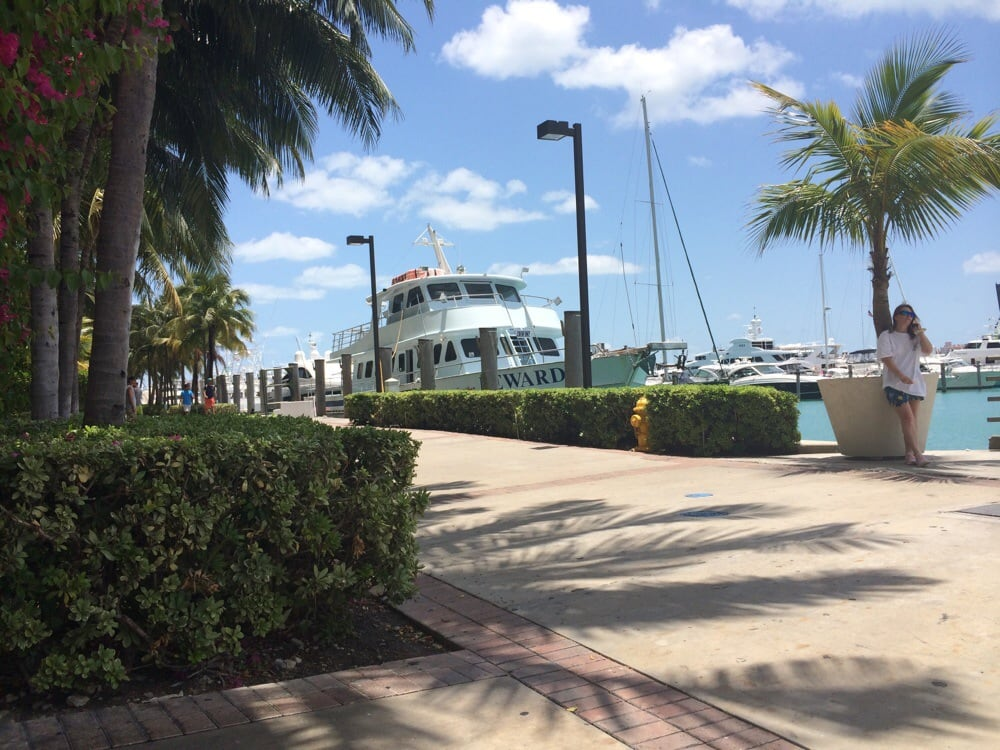 Bayside Marketplace is a festival marketplace in Downtown Miami, Florida. It is located between the Bayfront Park to the south end, and the American Airlines Arena to the north. Home; Directory. SHOPS Biscayne Blvd, Miami, FL Get directions.