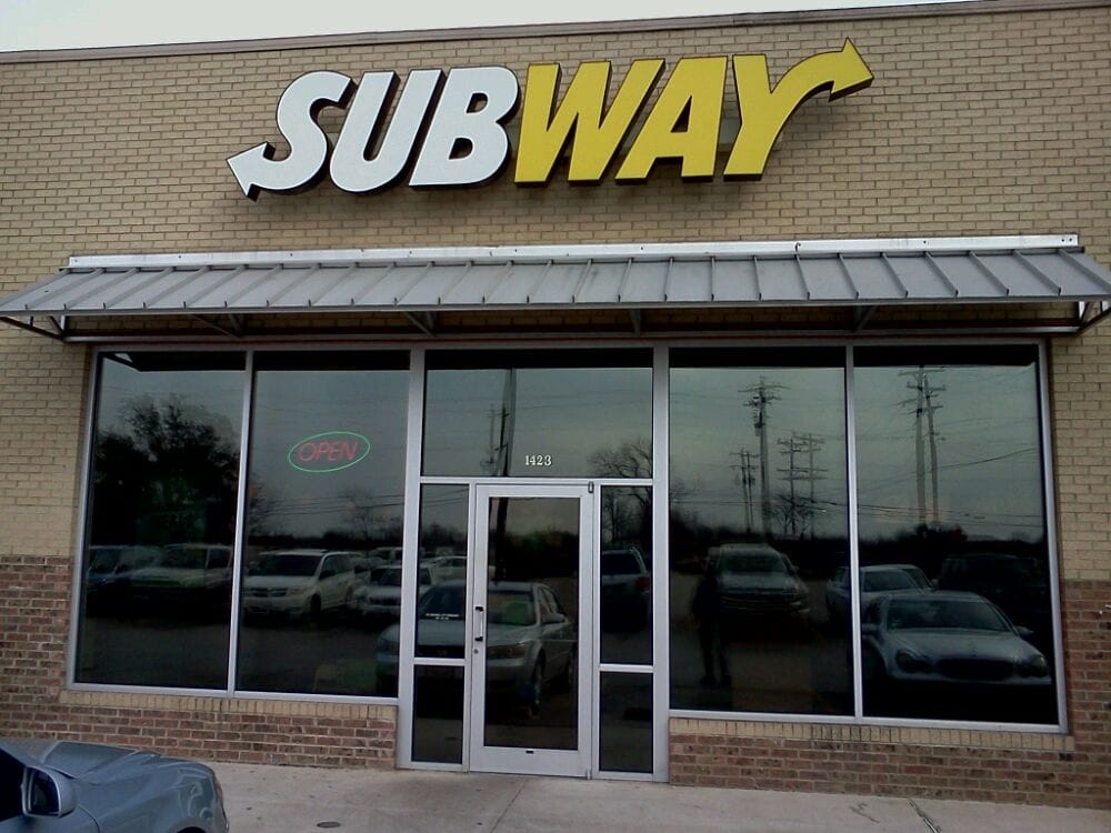 Granbury (TX) United States  city photos : Subway Sandwiches 1423 S Morgan St, Granbury, TX, United States ...
