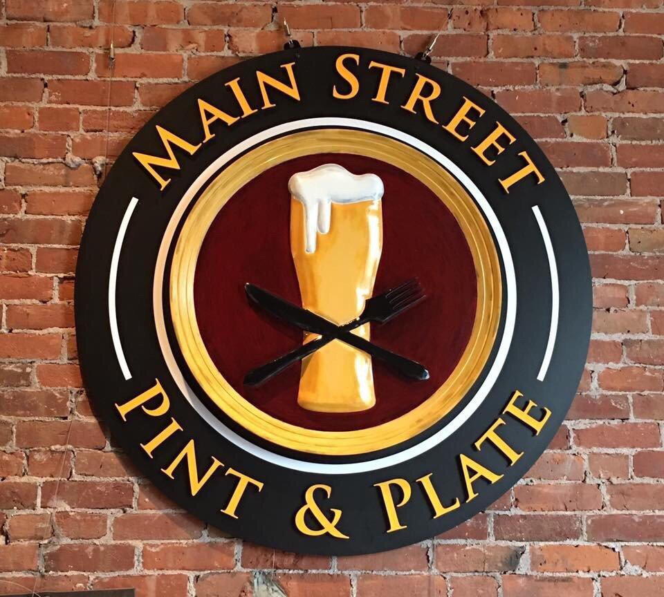 Main Street Pint & Plate: 182 Main St, Bristol, CT
