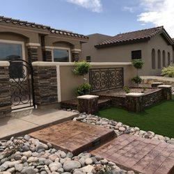 Photo Of Bedrock Landscaping Concrete El Paso Tx United States