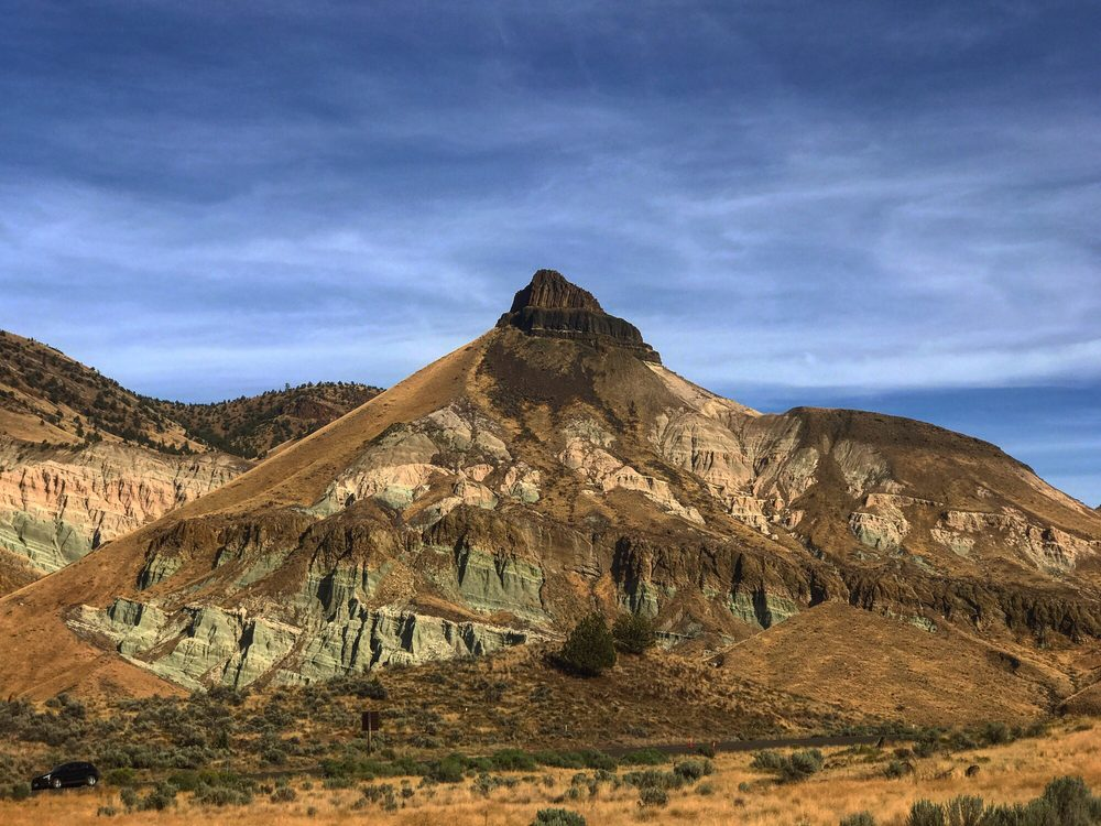 Sheep Rock: John Day Fossil Beds National Monument, Dayville, OR