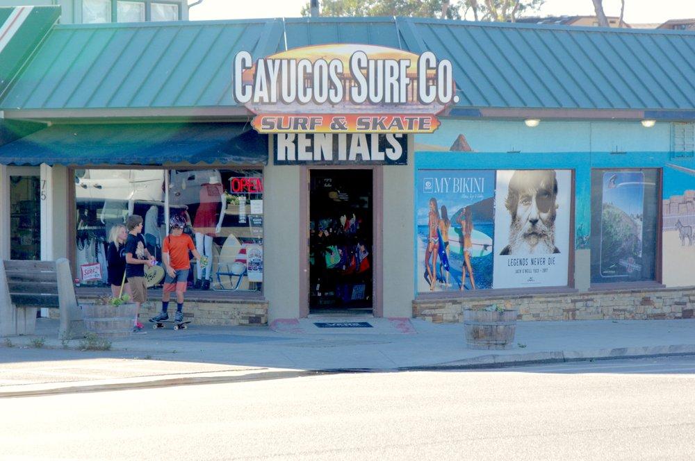 Cayucos Surf Co: 95 Cayucos Dr, Cayucos, CA