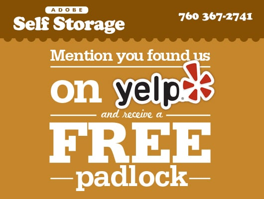 Adobe Self Storage 29 Palms Self Storage 5122 Adobe Rd