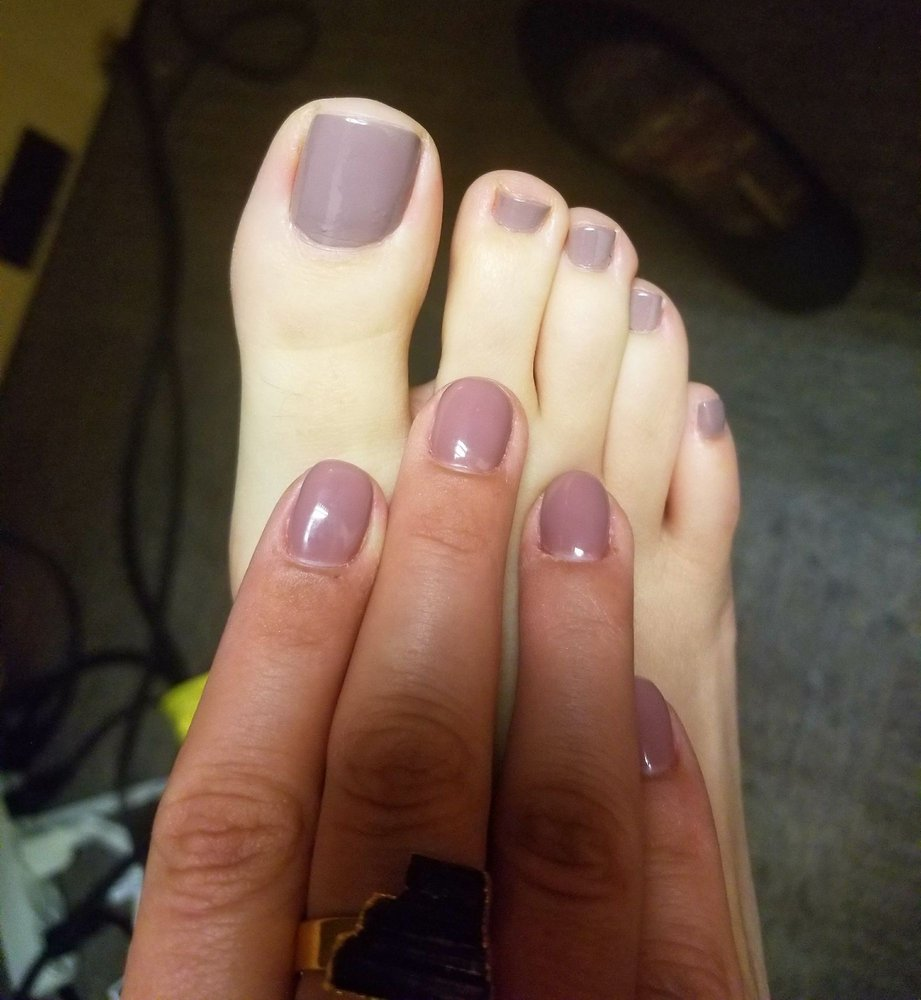 Mani/ pedi felling good. Remitted all of my overgrown cuticle. Need ...