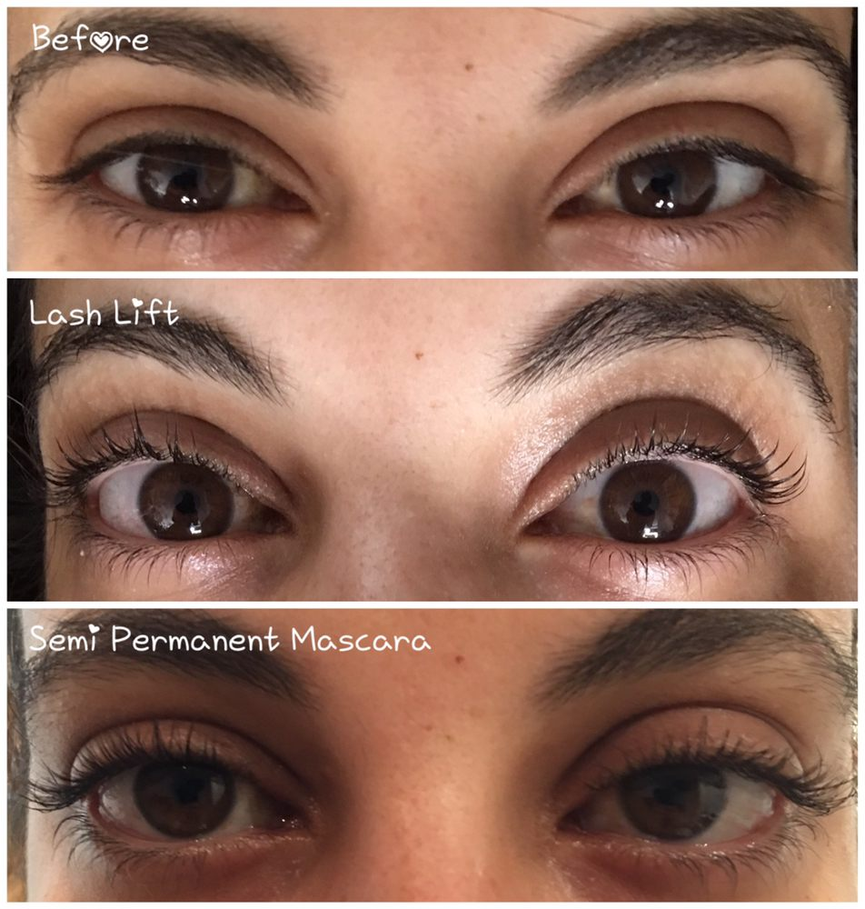 20 Minute Eyelash Lift And Semi Permanent Mascara Treatments Yelp