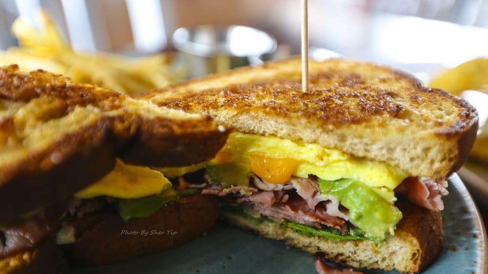 Brunch sandwich yelp for Table 9 morgantown