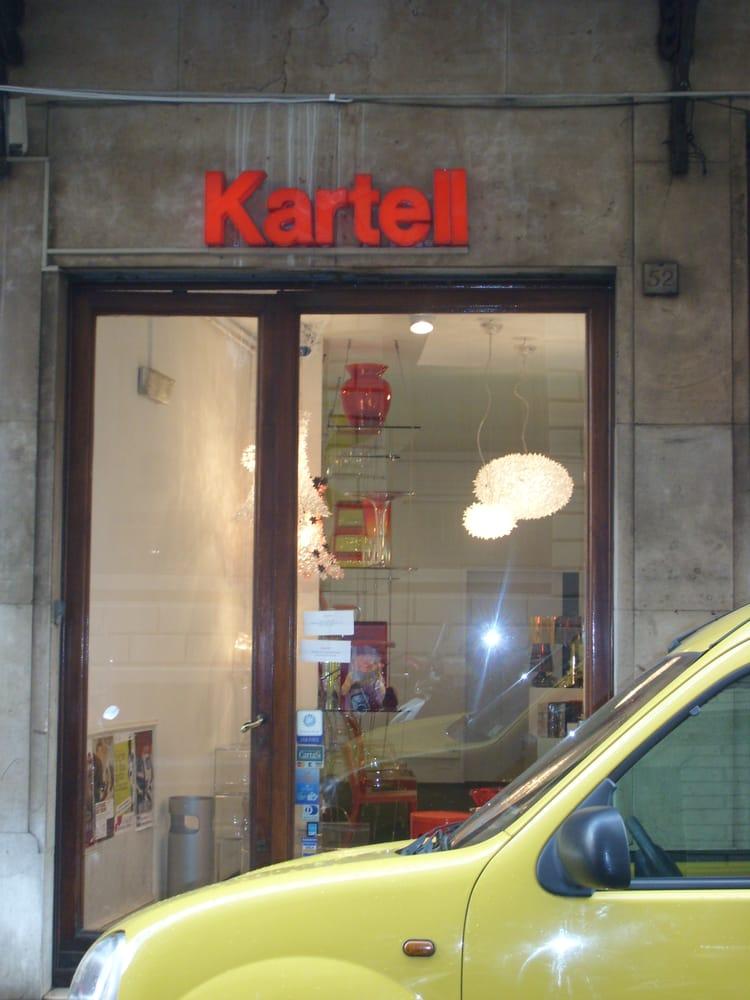 Kartell negozi d 39 arredamento borgo ognissanti 52r for Negozi di arredamento firenze