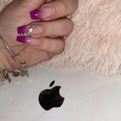 Photo of 3D Nails & Spa - Glendora, CA, United States. Ombré Nails