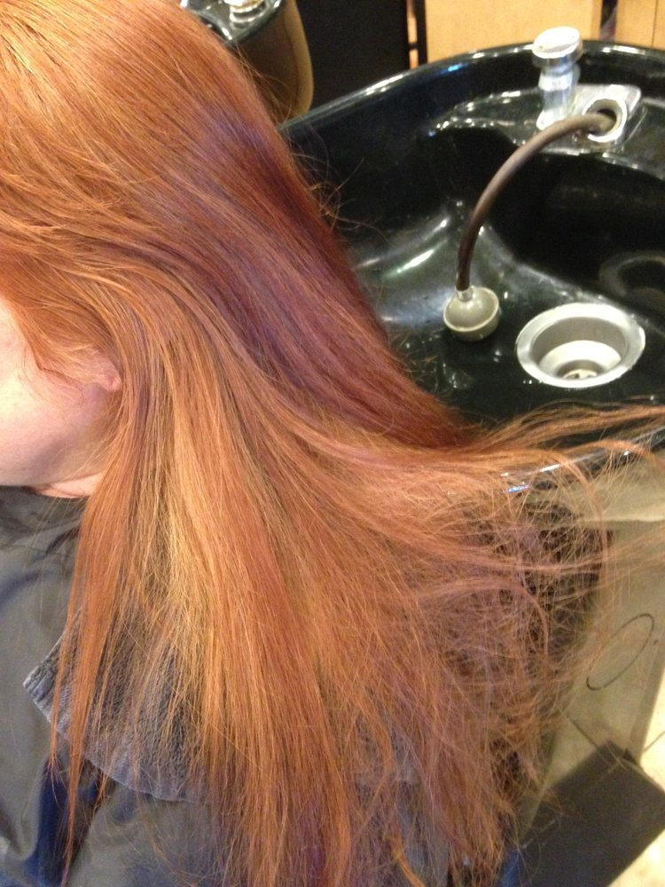 Bad Hair Color Job By Gema Which Had To Be Color Corrected
