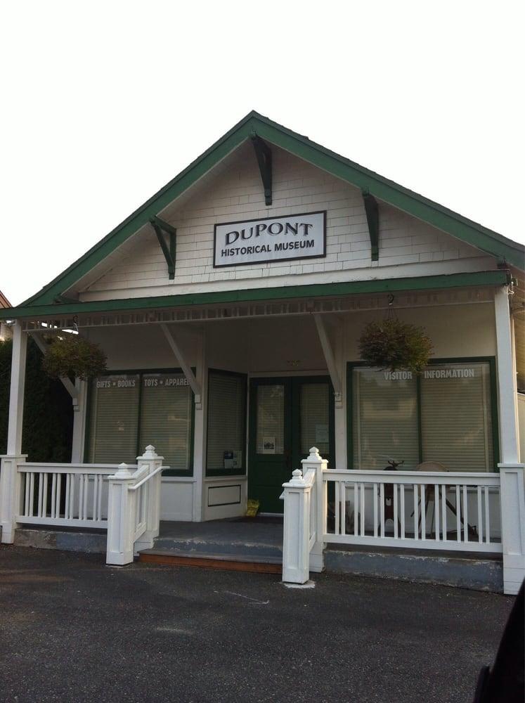 Dupont Historical Museum: 207 Barksdale Ave, Dupont, WA
