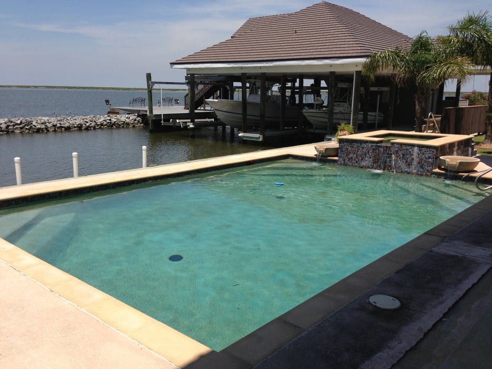 C Amp C Swimming Pool Leak Detection New Orleans La