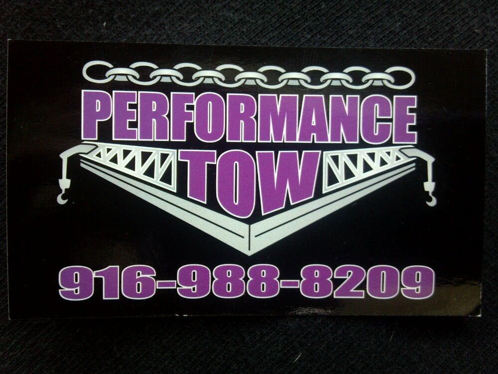 Towing business in Orangevale, CA