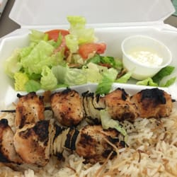 Superb Photo Of Kabob House   Cleveland, OH, United States. Chicken Kabob Combo