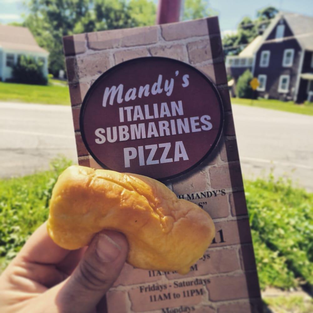 Mandy's Pizza & Subs: 1229 Burgoyne Ave, Hudson Falls, NY