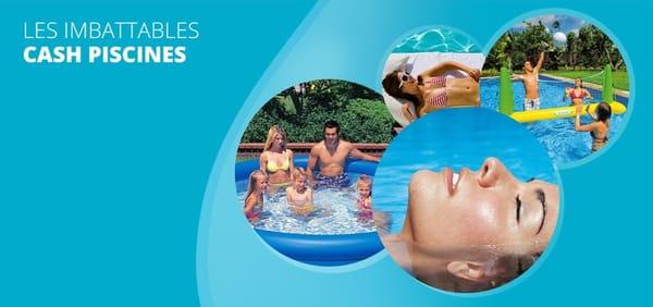 Cash piscines pool hot tub zae de la baume servian for Cash piscine herault