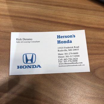 Herson s honda 15 photos 118 reviews tires for Herson honda rockville