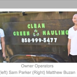 Clean green hauling 13 photos 51 reviews junk for Mattress cleaning service san diego