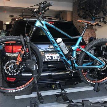Bike hookup for car