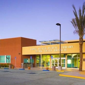Mark Twain Library Long Beach Ca
