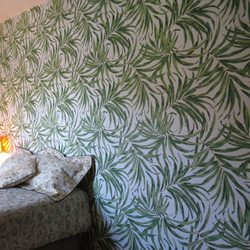 Photo of MidCiti Interiors Wallpaper Installation - New York, NY, United States. Accent