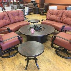 Photo Of Enzanos   Santa Fe, NM, United States. Woodard Outdoor Furniture
