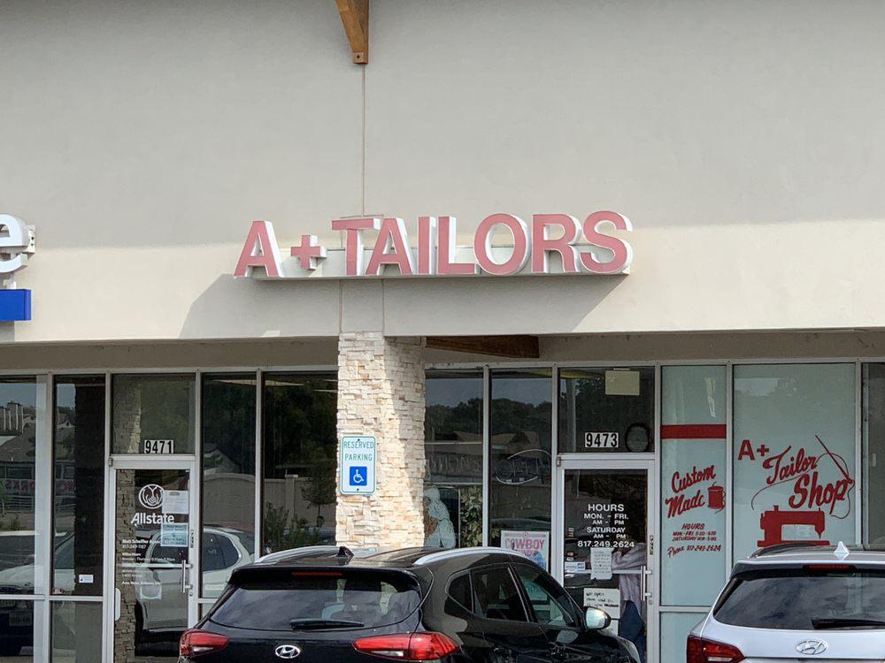 A Plus Tailor Shop: 9473 Benbrook Blvd, Benbrook, TX