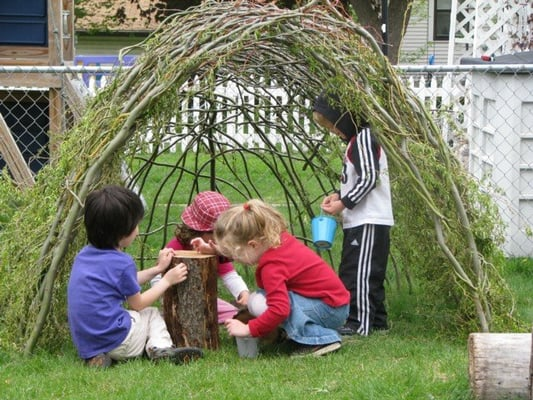 Outdoor Play Minneapolis  Photo of Blooming Willows Preschool - Minneapolis, MN, United States. Outdoor play