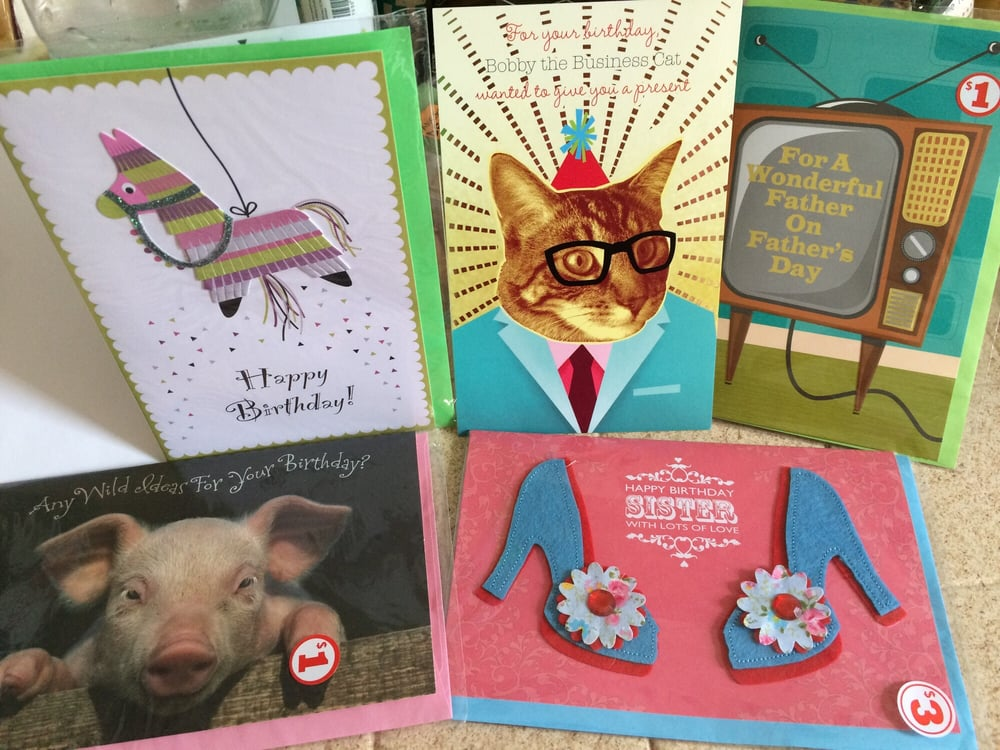 Great Selection Of Greeting Cards For Every Occasion For Only 1 2
