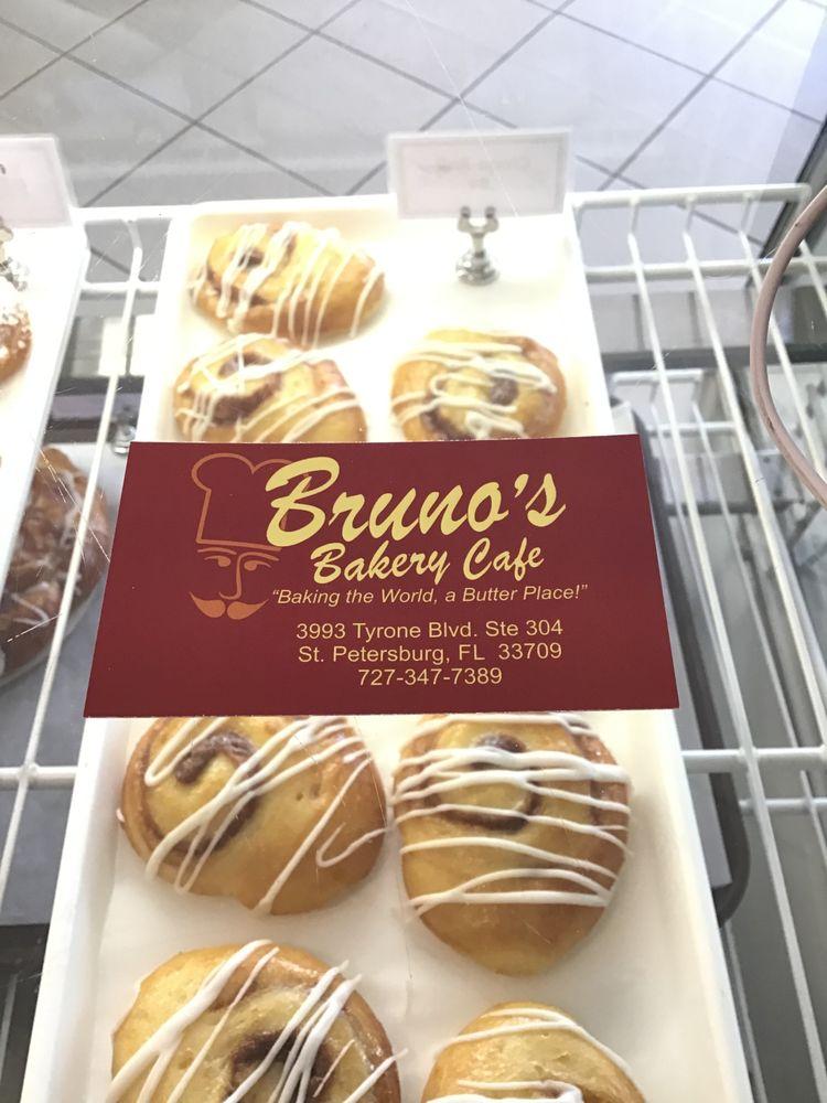 Bruno's Bakery Cafe: 3993 Tyrone Blvd, Saint Petersburg, FL