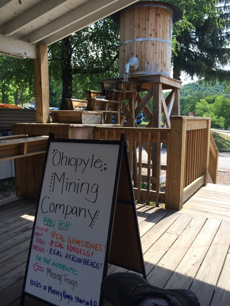 Ohiopyle old mill general store gelaterie 4 sherman st for Cabine vicino a ohiopyle pa