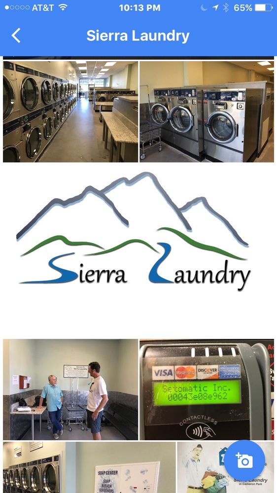 Sierra Laundry: 3000 Green Valley Rd, Cameron Park, CA
