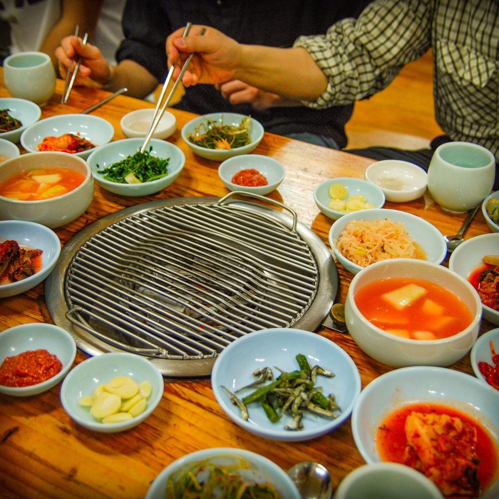Food from Harmony Korean BBQ