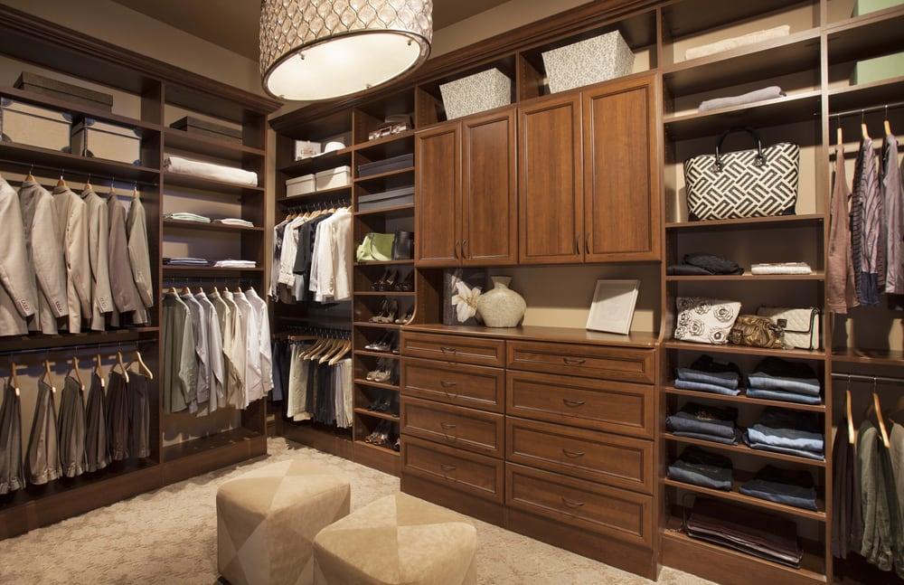 Gorgeous Custom Walk In Closet By Arizona Garage Closet Design Yelp