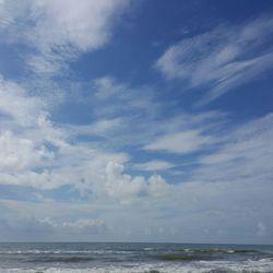Photo Of Sunny Beach Galveston Tx United States Beautiful Sky