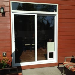 Photo of The Buddy Door - Vancouver WA United States. Complete vinyl sliding & The Buddy Door - CLOSED - Pet Services - 6013 NE 51st Ave Vancouver ...