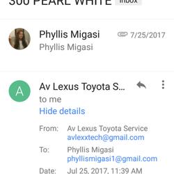 Photo Of Av Lexus Toyota Service Lancaster Ca United States Here