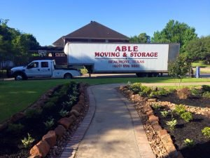 Able Moving & Storage: 6975 Griffing Rd, Beaumont, TX
