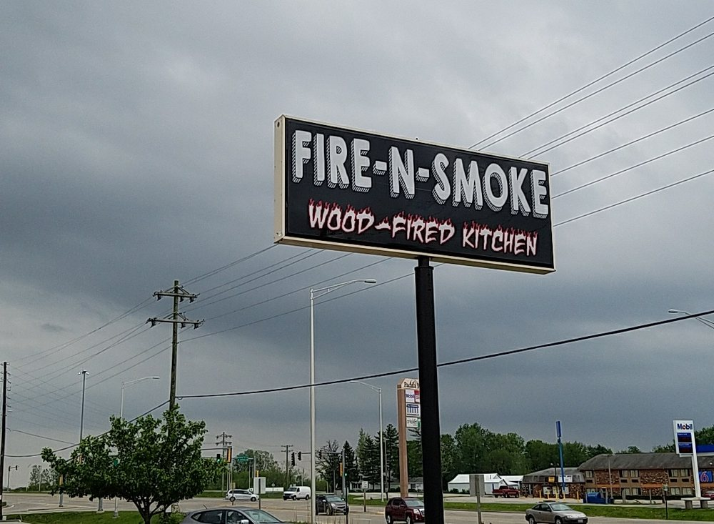 Fire N Smoke Wood Fired Kitchen Troy Il