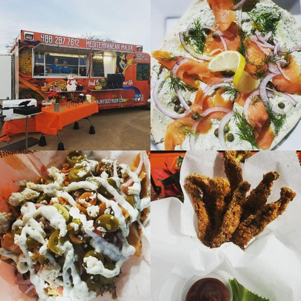Mediterranean Majik Food Truck: Phoenix, AZ