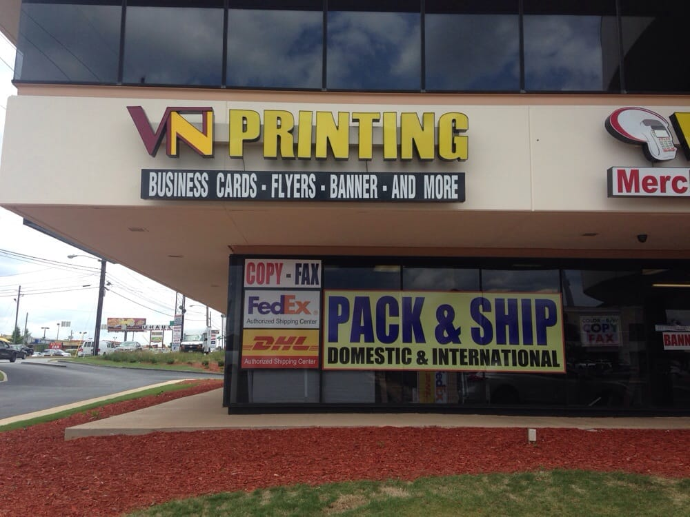 Vn Pack and Ship...4350 Jimmy Carter Blvd Norcross Ga 30093