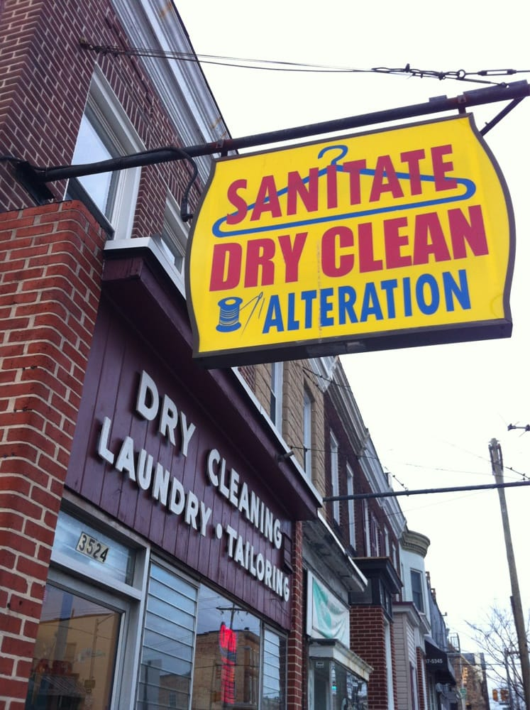 Sanitate Dry Cleaners