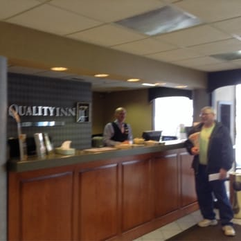 Photo Of Quality Inn   Troutville, VA, United States. Front Desk
