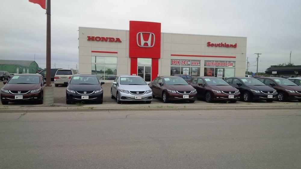 Southland honda get quote car dealers 784 triple e for Honda dealer phone number