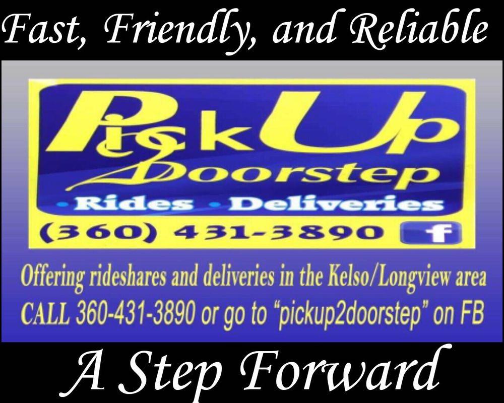Pickup2Doorstep: Kelso, WA